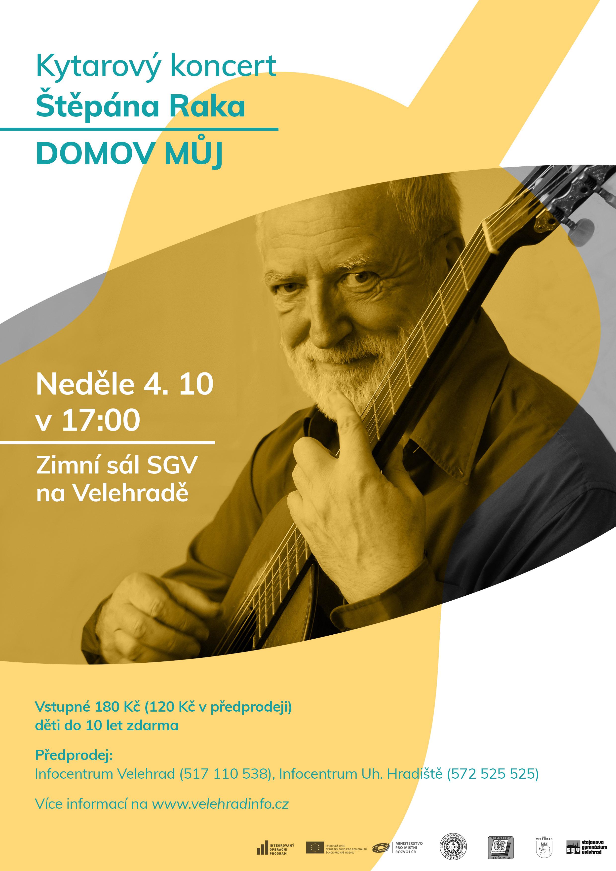 Štěpán Rak - koncert - plakat