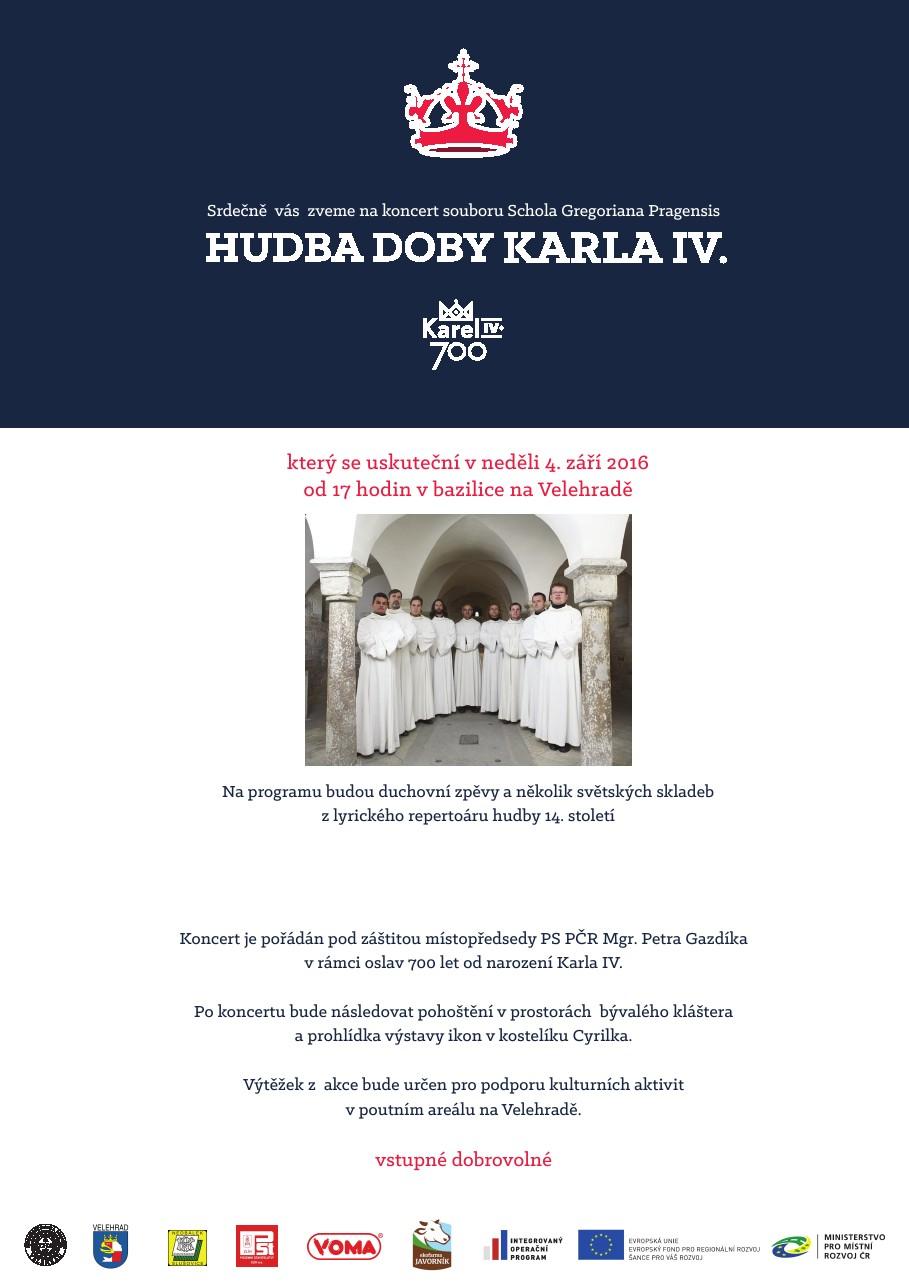 Hudba doby Karla IV - pozvánka - final